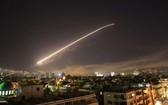 美英法聯軍向敘利亞發動空襲。(圖源:互聯網)