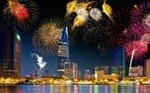 本市將在兩地點燃放煙花迎節日。(示意圖源:互聯網)