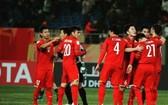 越南U23隊比賽中一瞥。