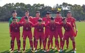越南U16隊。