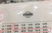六合彩中頭獎的彩票。(圖源:互聯網)