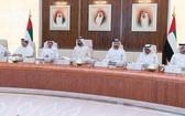 阿聯酋內閣會議一瞥。(圖源:Twitter)