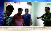 從北部來前江省放高利貸的團夥落網。(圖源:VOV視頻截圖)