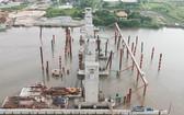芒蕉防潮閘建設工程。