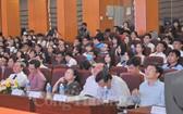 """上一屆在市工業食品大學舉辦的""""食品與糧食安全""""論壇現場一瞥。"""