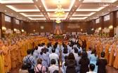 圖為釋廣德菩薩為法自焚55週年緬懷儀式現場一瞥。(圖源:覺悟報)