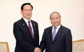同日下午政府總理阮春福接見了宋永武部長。(圖源:光孝)