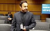 伊朗駐國際原子能總署(IAEA)大使納加菲(Reza Najafi)表示,若2015年簽署的核子協議瓦解,將重啟核子活動。 (圖源:路透社)