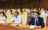 國會昨(12)日上午以86.86%贊成票表決通過《網絡安全法》。(圖源:越南快訊)