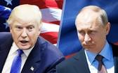 美國總統特朗普與俄羅斯總統普京。(圖源:互聯網)