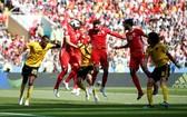 比利時-突尼斯比賽一瞥。(圖源:互聯網)