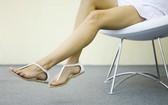 總愛抖腿說明哪裡有問題。(示意圖源:互聯網)