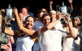 梅利查和佩亞首次拿到大滿貫的冠軍。