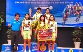 安江省天祿集團自行車隊奪得團體賽項冠軍和全賽事的黃衣。