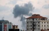以軍繼續對加沙進行轟炸。(圖源:路透社)
