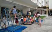 仁富公寓設有為工人子弟服務的幼兒園。