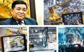 計劃與投資部長阮志勇(左上圖):越僑知識學者促進第四次工業革命。(示意圖源:互聯網)