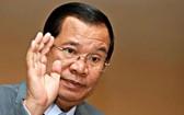 柬埔寨人民黨中央委員會主席洪森蟬聯首相。(圖源:路透社)