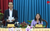 國家主席陳大光在會議上發表講話。(圖源:AG Oline)