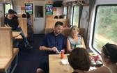 五星級列車吸引很多遊客。