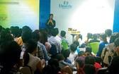圖為Unicity Marketing VN傳銷公司的產品推介會現場一瞥。