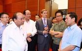 政府總理阮春福聽取籌委會的報告。