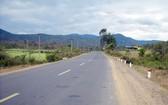 開展途經富安省富安與嘉萊兩省之間連接路線項目。(示意圖源:互聯網)