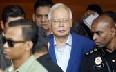 馬來西亞前首相納吉布19日下午因「26億政治獻金案」再度被捕。(圖源:AP)