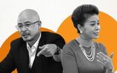 中原集團創辦人鄧黎源武(左)和夫人黎黃葉草。(圖源:仁黎)
