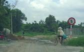 第十二郡和福門縣西貢河圍堤未來會改建成道路。
