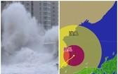 濟州島沿岸出現大浪。(圖源:互聯網)