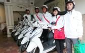 急救摩托車團隊。(圖源:雲山)