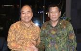 阮春福總理會見菲律賓總統杜特爾特。(圖源:VGP)