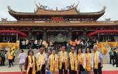 福建二府會館代表團參加祭祀儀式。