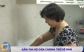 Carina 公寓居民重返家園。(VTV視頻截圖)