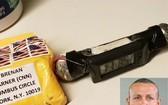 嫌疑人薩羅克(小圖)涉嫌寄出多個郵包炸彈。(圖源:互聯網)