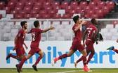 卡塔爾大勝泰國隊。(圖源:互聯網)