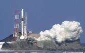 """日溫室氣體觀測衛星""""息吹2號""""發射成功。(圖源:共同社)"""