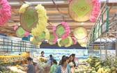 本市超市售賣由各合作社生產的農產品。
