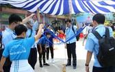 大學生參加三鍛煉學生盛會。(圖源:越通社)
