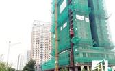本市冒起許多新建高級公寓。