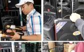 電子設備市場和網上正銷售各種廉價揚聲器。