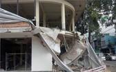 建築工程倒塌事故現場。(圖源:吳平)