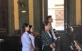 出庭受審的6名涉案被告人。(圖源:光平)
