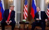 俄美總統將於 G20 峰會期間會晤。圖為7月16日,美國總統特朗普與俄羅斯總統普京在芬蘭赫爾辛基舉行會晤。(圖源:路透社)