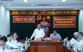 政府常務副總理張和平在討論會上發表講話。(圖源:VGP)
