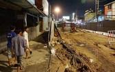 阮泰山立交橋被擱置了長時間,如今才重新施工。