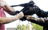 慎防在路上遭搶手袋。(示意圖源:互聯網)
