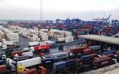 年貨開始運抵本市港口。(示意圖源:互聯網)