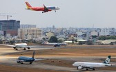越航和捷星等兩家航空公司增加航班為春節服務。(示意圖源:互聯網)